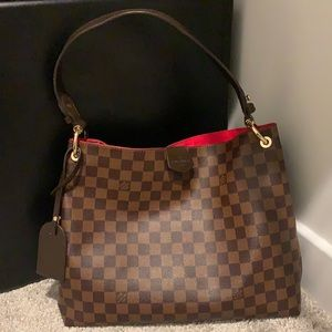 Louis Vuitton like new with box and bag